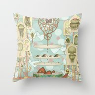 Floating Dreams1 Throw Pillow