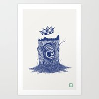 King Of The Little Forre… Art Print