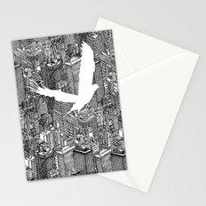 Ecotone (black & white) Stationery Cards