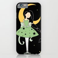 iPhone & iPod Case featuring Moonlight Ballerina by Devin Marie