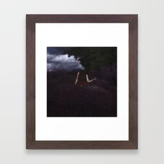Headless Ghost Framed Art Print