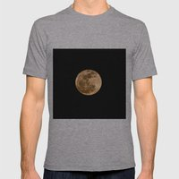 La Luna 3 Mens Fitted Tee Athletic Grey SMALL