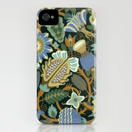 Flower Fantasy In Blue iPhone (4, 4s) Slim Case