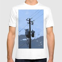 Transformer Mens Fitted Tee White SMALL