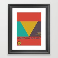 Southern Brewer Single H… Framed Art Print