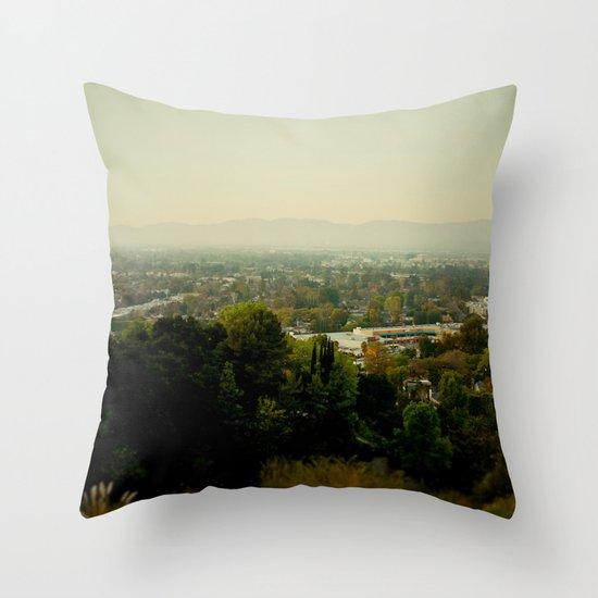 City Capture Throw Pillow