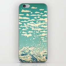 Where The Clouds Are Born iPhone & iPod Skin