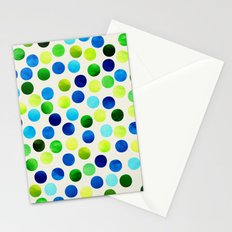 Dance Aqua by Jacqueline Maldonado & Garima Dhawan Stationery Cards