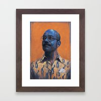 Man Inside Framed Art Print