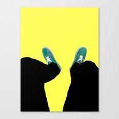 Down. Canvas Print