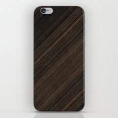 Ebony Macassar Wood iPhone & iPod Skin