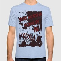 HorrorVille 13 B-movie F… Mens Fitted Tee Athletic Blue SMALL