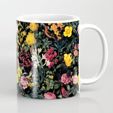 Floral and Birds Pattern Mug