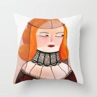 Lucrecia Throw Pillow