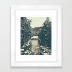 for emma, forever ago Framed Art Print