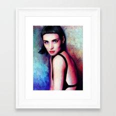 Rooney Mara Framed Art Print