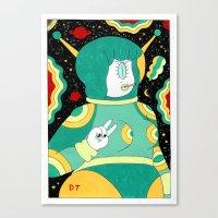 Space Babe Canvas Print
