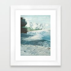 The Pace Is Glacial Framed Art Print