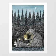 'Night Light' Art Print