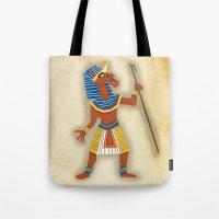 Pharaoh Unicorn Tote Bag