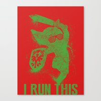 Link Boss Canvas Print
