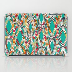 knot drop turquoise iPad Case
