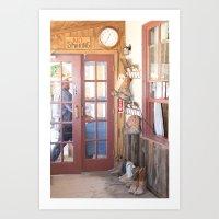 Arizona Boots I Art Print