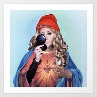 Amanda. Art Print