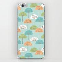 Wispy Flowers iPhone & iPod Skin