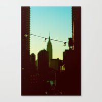 A View Of Bliss Canvas Print