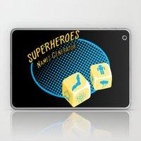 Super-Heroes-Name-Generator Laptop & iPad Skin