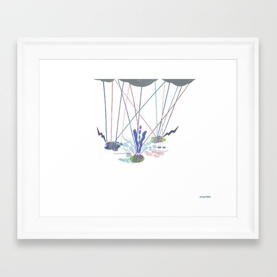 The Road to Self Actualization, I Framed Art Print
