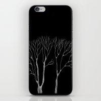 Winter trees iPhone & iPod Skin