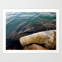 September Sea Art Print