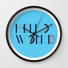 Hello World | Comp Sci Series Wall Clock
