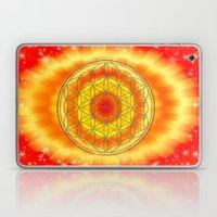 Mandala Blume des Lebens Laptop & iPad Skin