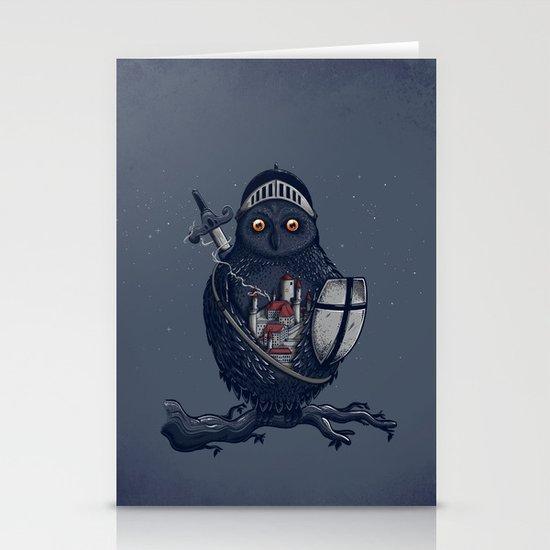 Night Watchman Stationery Card