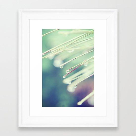 Symphony of Blues Framed Art Print