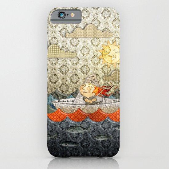 paper boat iPhone & iPod Case