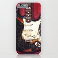 Burnt guitar iPhone 6 Slim Case