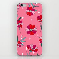 Pink Summer iPhone & iPod Skin