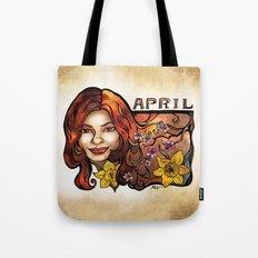 Brenda of April Tote Bag