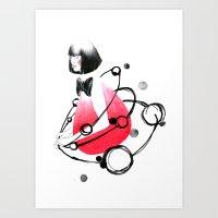 around me 2 Art Print