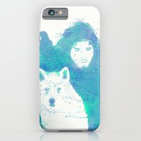 iPhone & iPod Case featuring Lord Snow by Thiago García