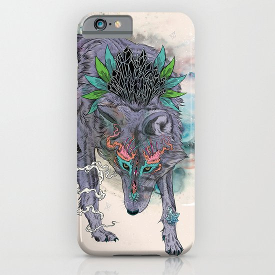 Journeying Spirit (wolf) iPhone & iPod Case