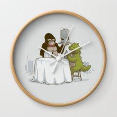 Crunchy Meal Wall Clock