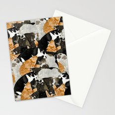 Cat Print Stationery Cards