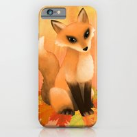 iPhone & iPod Case featuring Fall Fox by Sarah J
