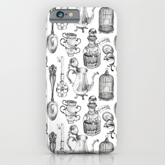 Alice Encounters iPhone & iPod Case