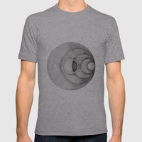 Moon Mens Fitted Tee Athletic Grey SMALL